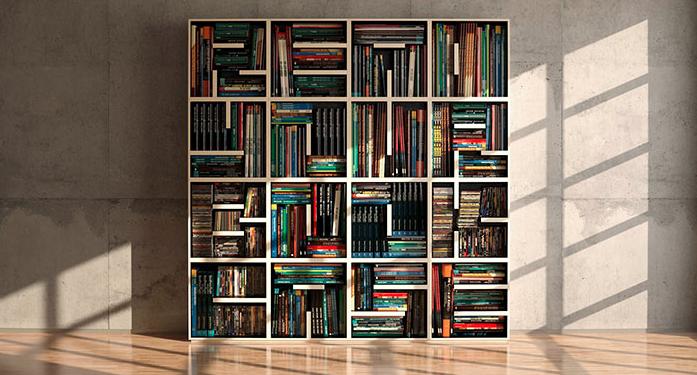 20 manieren om je boeken creatief op te bergen   NSMBL.nl