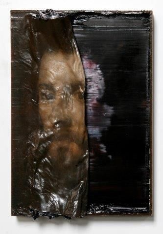 Nicola Samori, Overtura, 2013, oil on wood, 12.2 x 8.3in (31 x 21cm)