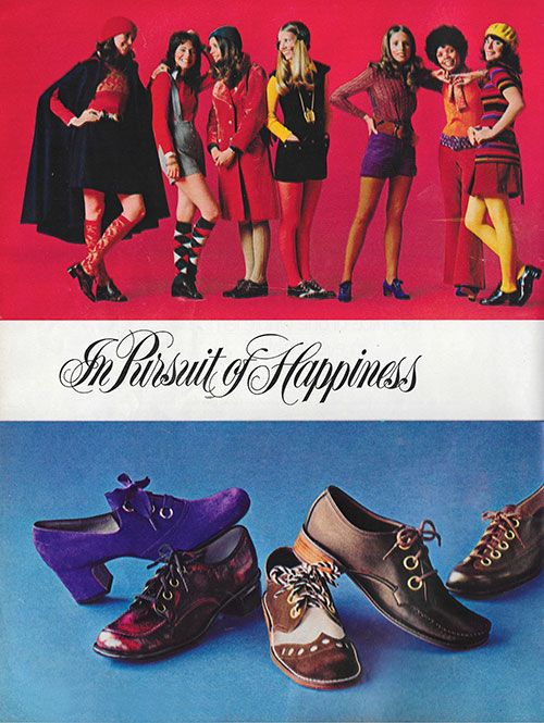 'A lot of funky footage to keep you shoe-happy through the fall.' (1971) #MissAmericaShoes