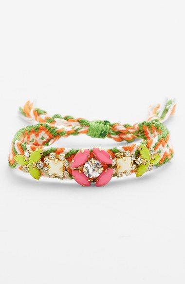 Cara Macramé Friendship Bracelet available at #Nordstrom