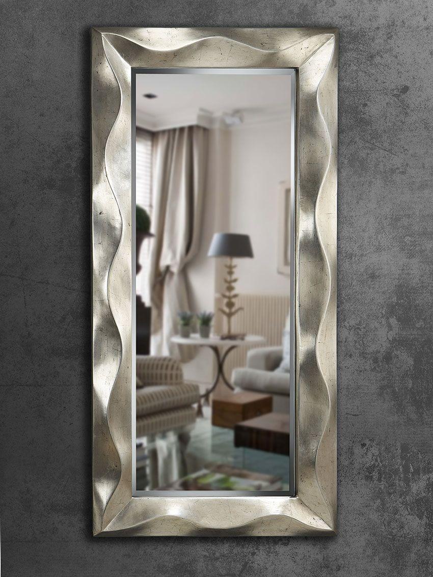 Espejos modernos mas de 250 espejo vestidor ondas - Espejos modernos ...