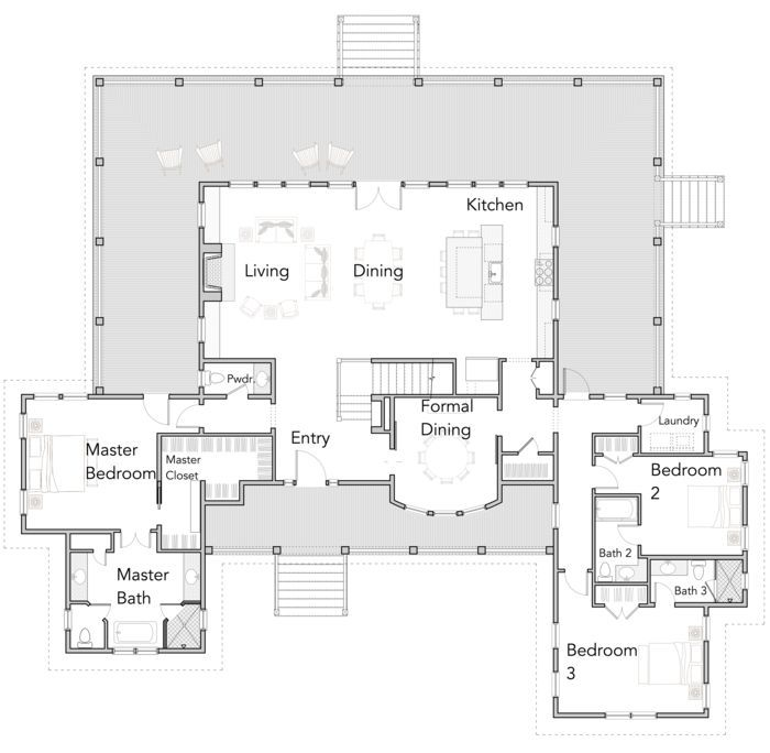 Outsmart Open Floor Plan House Plans For Many Uses Home