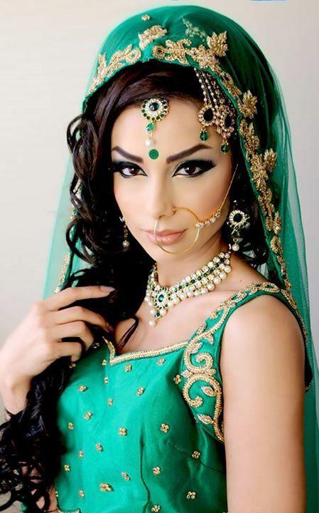 Arabic Wedding Makeup Done By Riz Khan