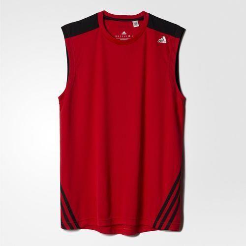 b54987291 Camiseta Regata Adidas Base 3S Masculina Vermelha (Machão) AB6478 ...