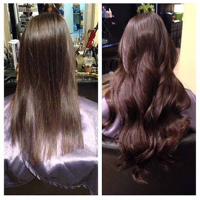 Destefinosss Photo Another Beforeafter Hot Head Hair Extensions