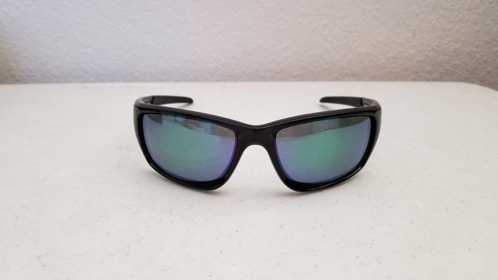 2d83dc7752b ... new style 49.95 oakley canteen sunglasses 9225 04 gray polarized lens  green o and mirror finish