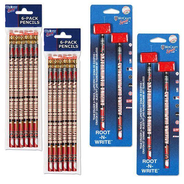 Arizona Diamondbacks WinCraft Pencil and Eraser Packs