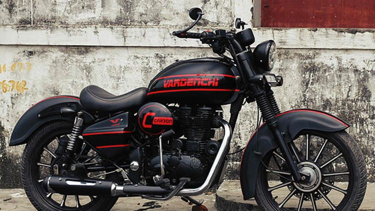 Royal Enfield Classic 350 Carbon By Vardenchi In 2020 Enfield