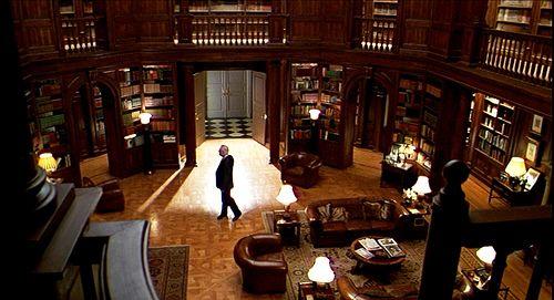 William Parrish S Excellent Library In Meet Joe Black