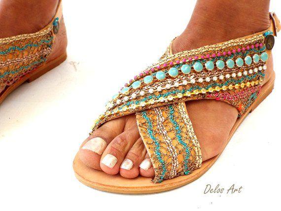 11d5a6ce8d32 Greek Leather Sandals Sofia Handmade sandals