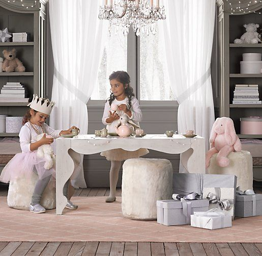 Rocaille Play Table Playroom Restoration Hardware Baby