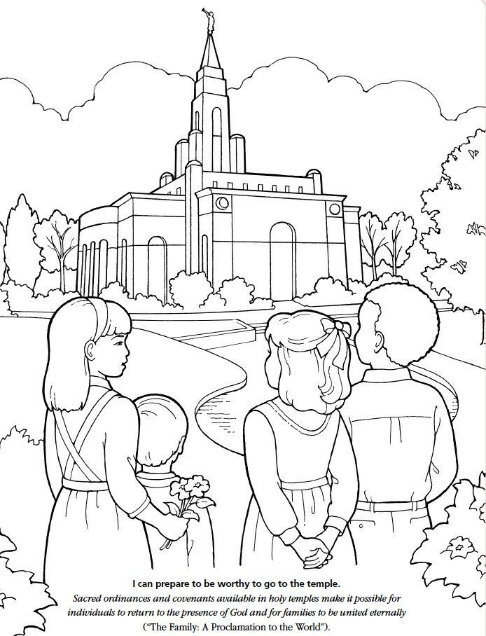 Pin By Crista Hark On LDS Childrens Coloring Pages