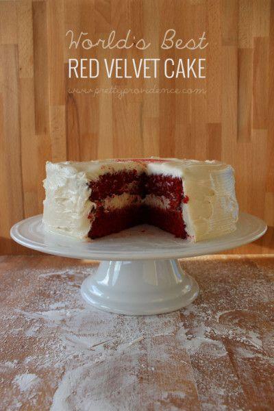 The best red velvet cake recipe ever