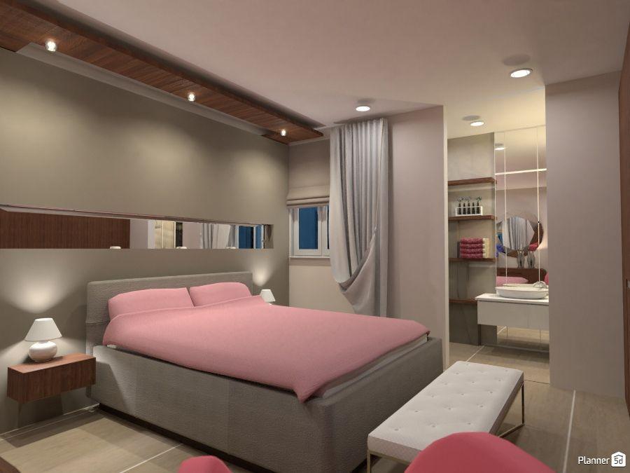 Bedroom interior, PLANNER 5D   B e d r o o m s   PLANNER 5D designs ...