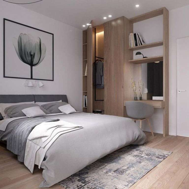 35 Modern Rustic Scandinavian Bedroom Design Ideas Scandinavianbedroom Bedroomdesign Bedro Bedroom Design Trends Modern Bedroom Scandinavian Design Bedroom