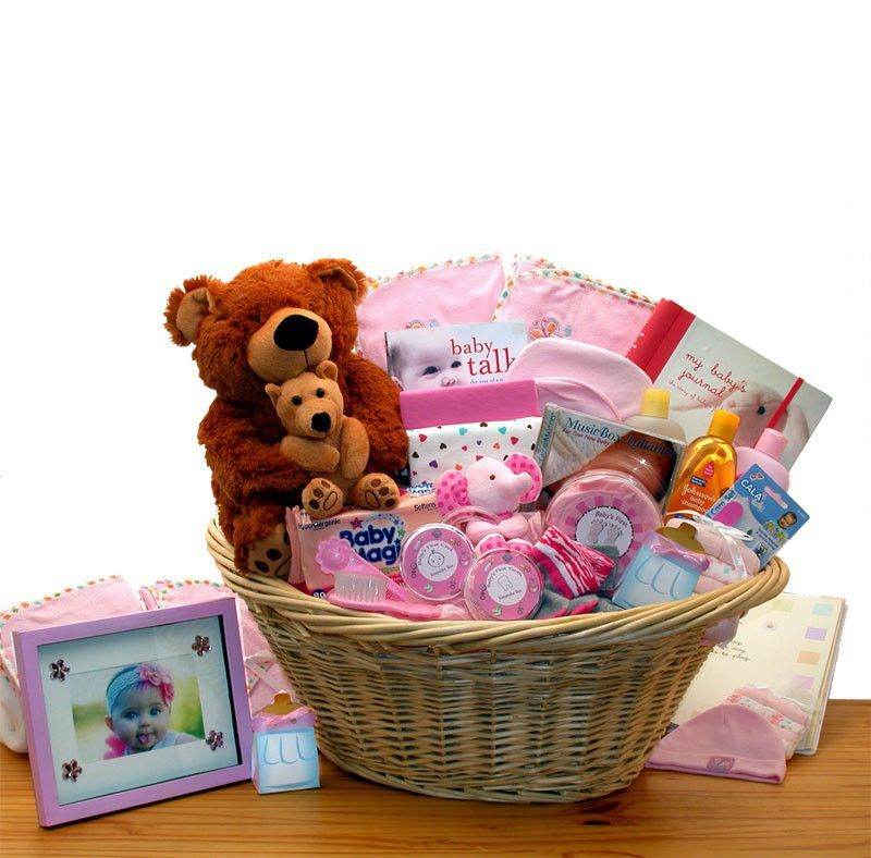 Exclusive Precious Baby Shower Gift Basket Baby Showers Welcome