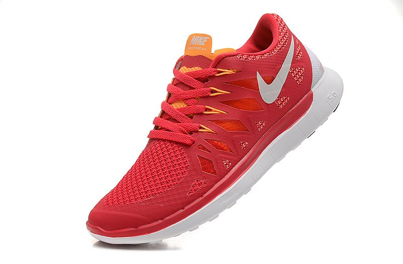 5cf244309f25 Nike Free 5.0 2014 Womens Legion Red White Laser Crimson Mango 642199 601