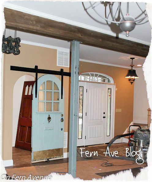 How To Install Sliding Pantry Door