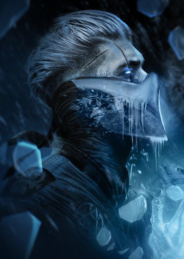 Sub Zero In 2020 Mortal Kombat Art Sub Zero Mortal Kombat