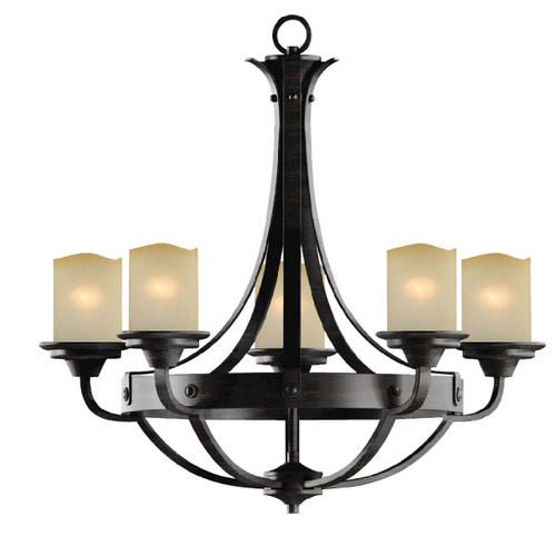 Patriot lighting elegant home oakland 27 reclaimed wood transitional chandelier at menards