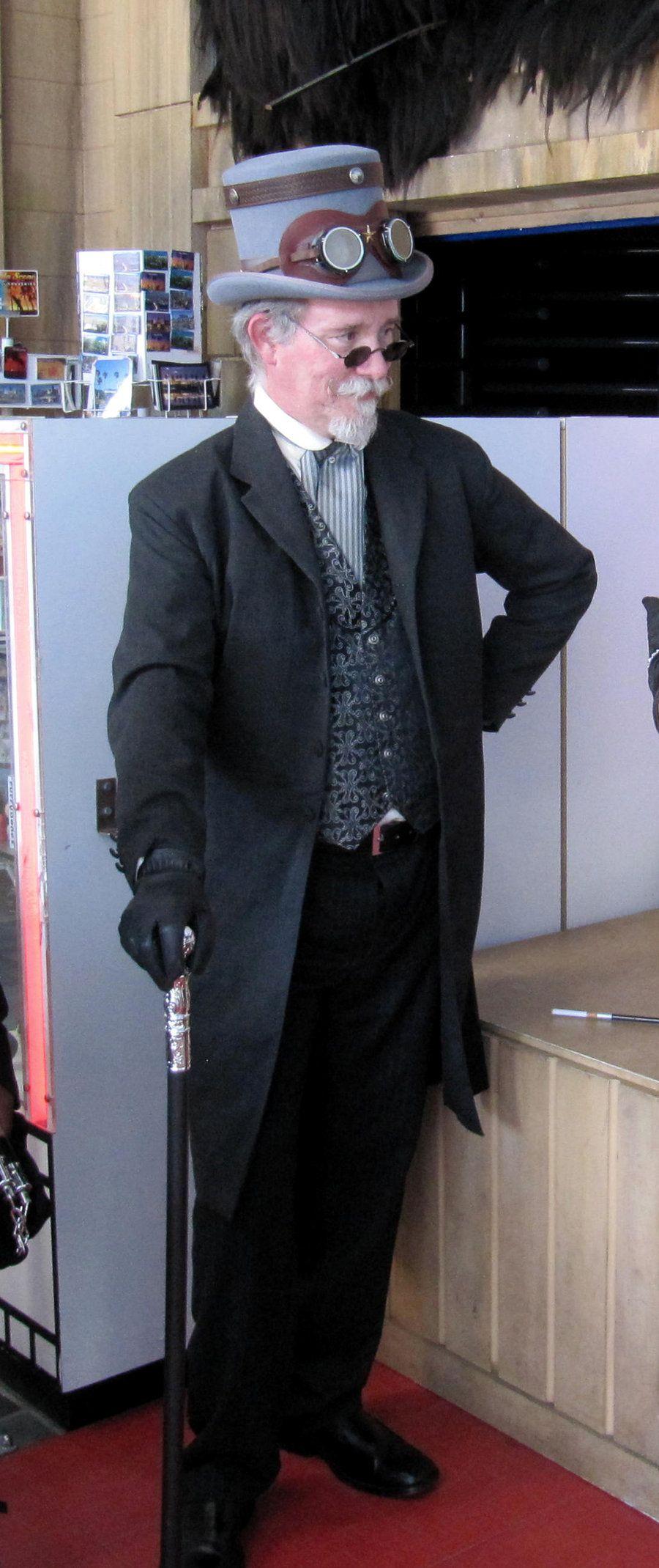 Steampunk Gentleman 2 by MJBivouac.deviantart.com on @deviantART