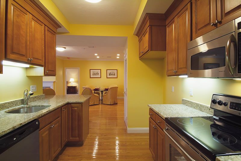 Best Yellow Walls With Golden Brown Cabinets Google Search 640 x 480