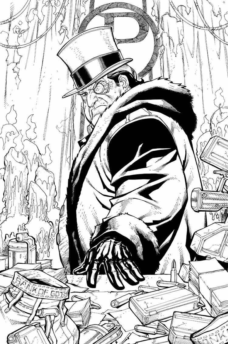 Penguin Comic Art - Characters Art - Batman: Arkham City | Art Stuff ...