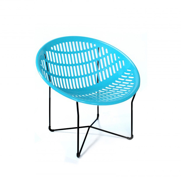 Charmant Solair Chair, Blue