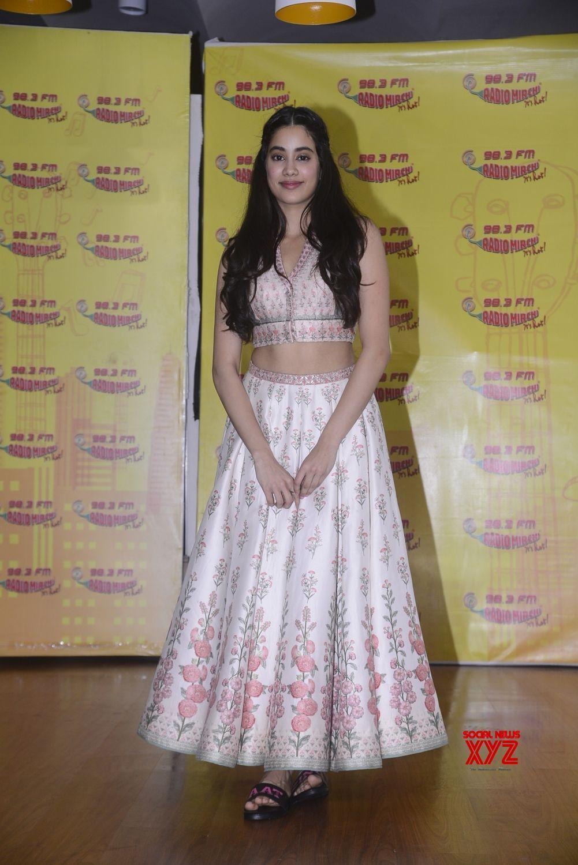 "Mumbai Promotion of film ""Dhadak"" Janhvi Kapoor, Ishaan"