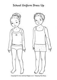 Image Result For Paper Doll Template Pdf