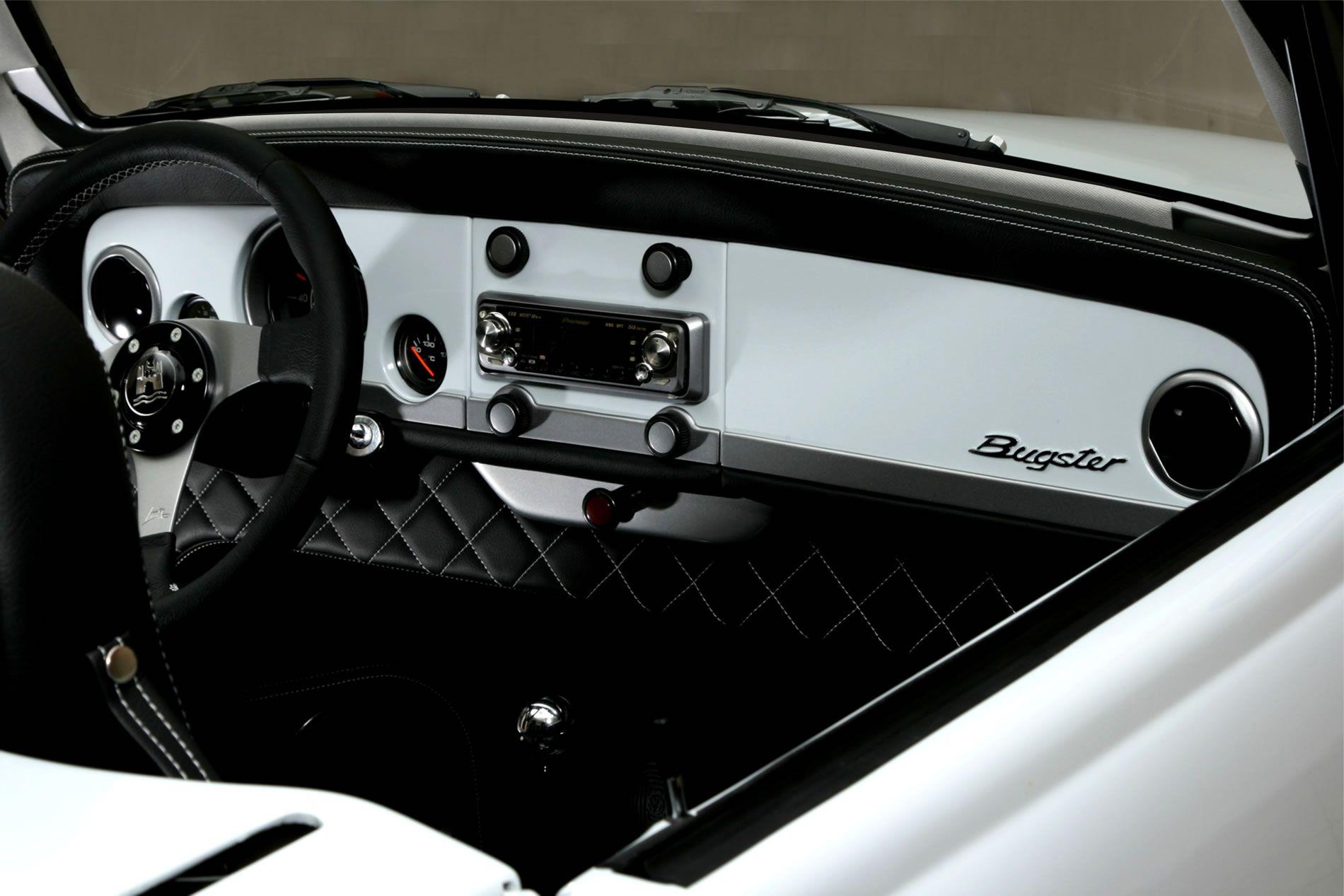 Ziovas Bugster VW Beetle roadster custom dashboard