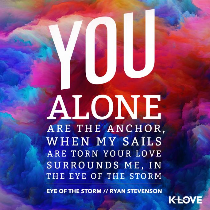 Ryan Stevenson S New Song Eye Of The Storm Definitely One Of My