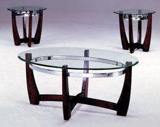 Mitc 3 Piece Table Set American Freight Coffee