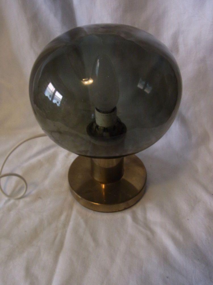 Tolle 70er Tisch Lampe Desk Lamp Hoffmeister #