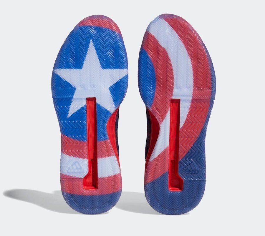 máquina Subvención Negociar  Adidas' Captain America Shoes Get Release Date | Captain america shoes,  Basketball shoes, Adidas men