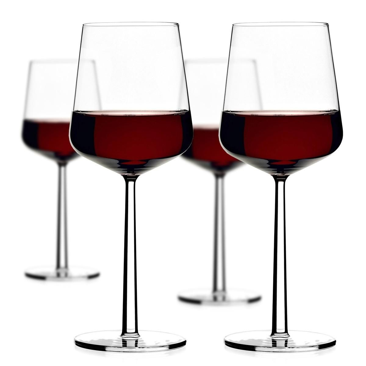Make Designed Objects Iittala Essence Red Wine Pack Of 4 Red Wine Red Wine Glasses Wine