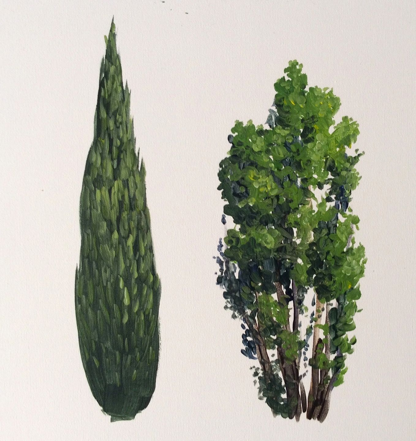 Learn how to paint cypress trees in #acrylics with Jon Cox as part of our #landscapes academy. Coming soon to ArtTutor.