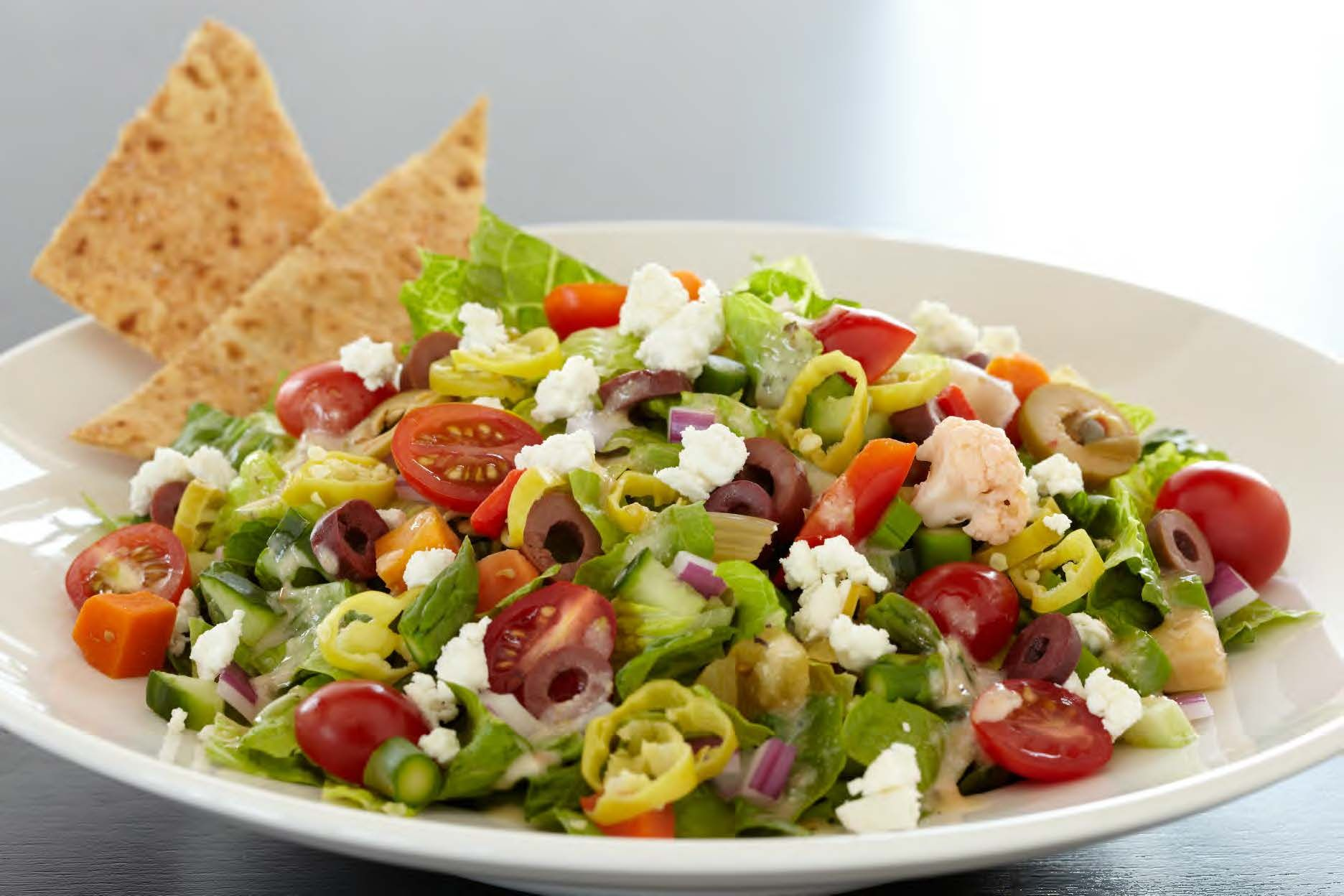 Mediterranean Chopped Salad America S Test Kitchen