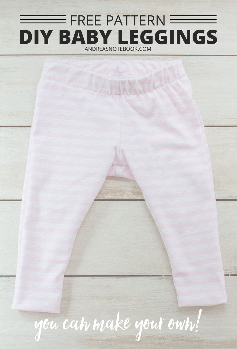 Celebrating Babies Free Baby Leggings Sewing Pattern Baby