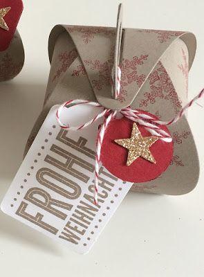 Vera's Paperdesign: Zierschachteln für Weihnachten