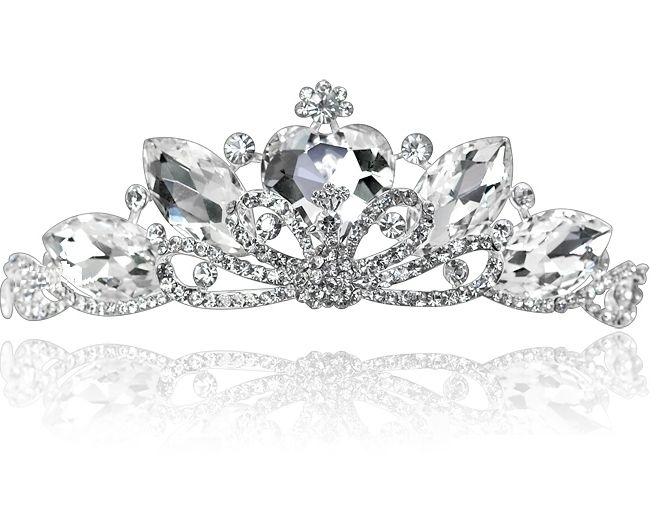 Mis 15 Anos Bracelet: 2013 New Rhinestone Crystal Heart Tiara Crown For Bride