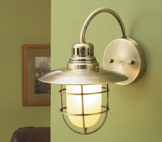 Cabelau0027s: Nautical Wall Sconce Zoom
