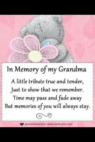 In Loving Memory Of Grandma Quotes : loving, memory, grandma, quotes, Destinee, Paintin, Quotes, Sayings, Grandma, Poem,, Quotes,, Grandmother