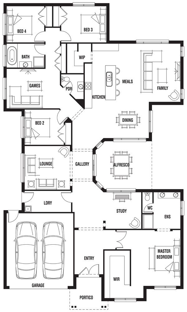 New Home Designs To Build In Melbourne My House Plans House