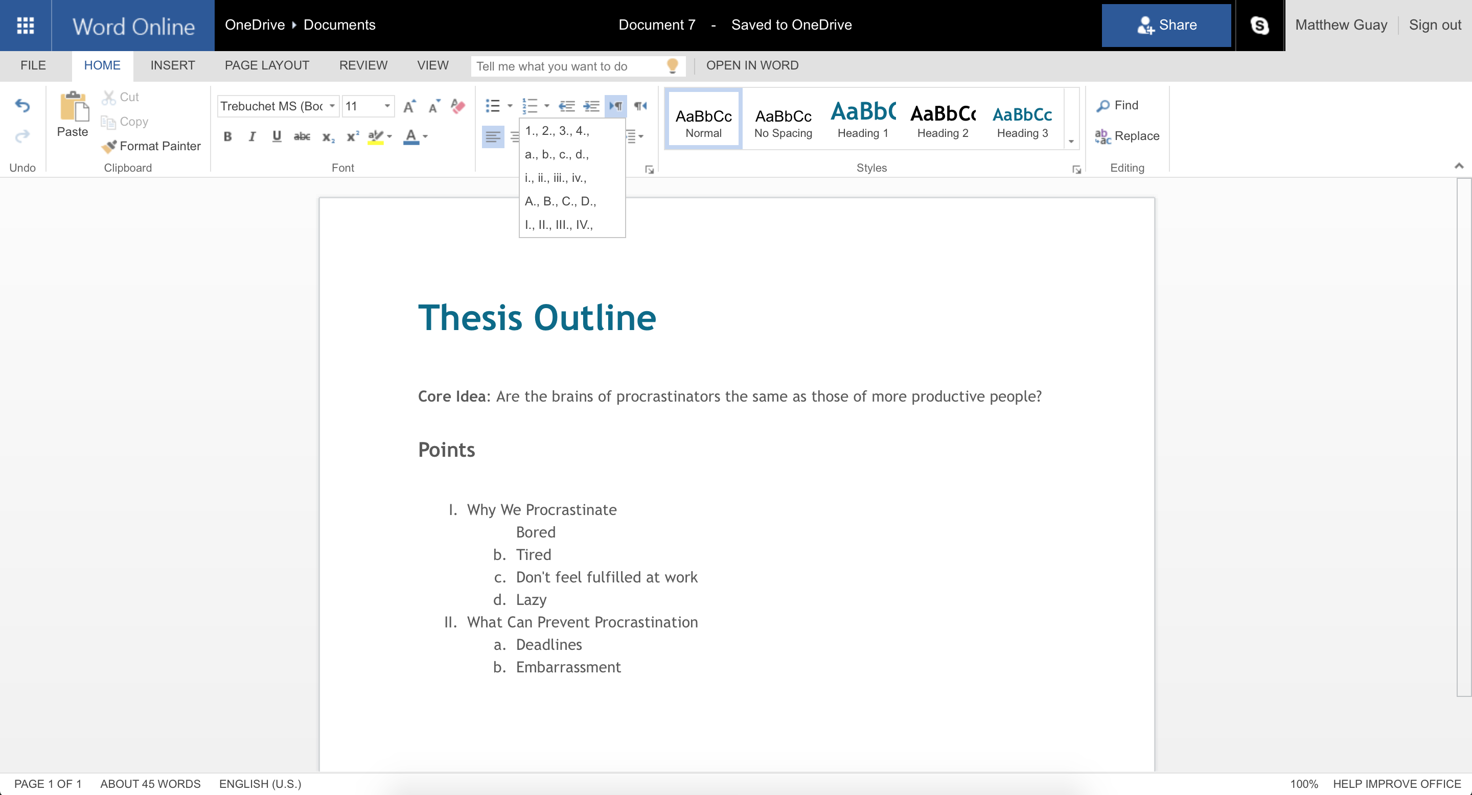 Microsoft Word  Dissertation And Writing    Microsoft