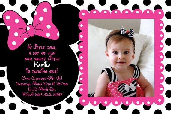 Custom Minnie Mouse Invitations By Heatherscreations11 Lots Of