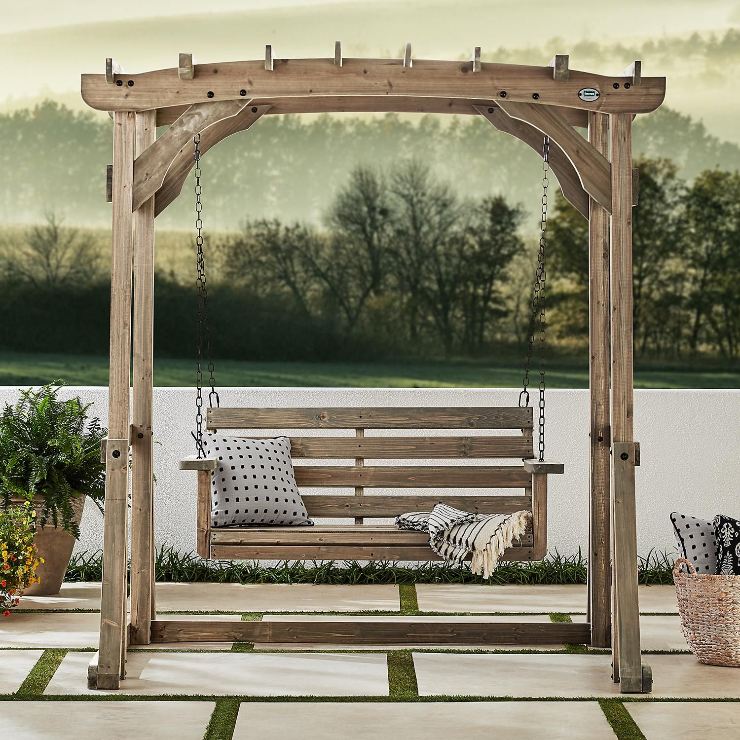 Backyard Discovery 14' X 10' Silverton Pergola With