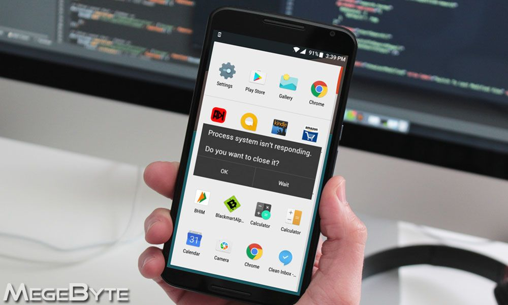How To Fix Process System Isn T Responding Error On Android With