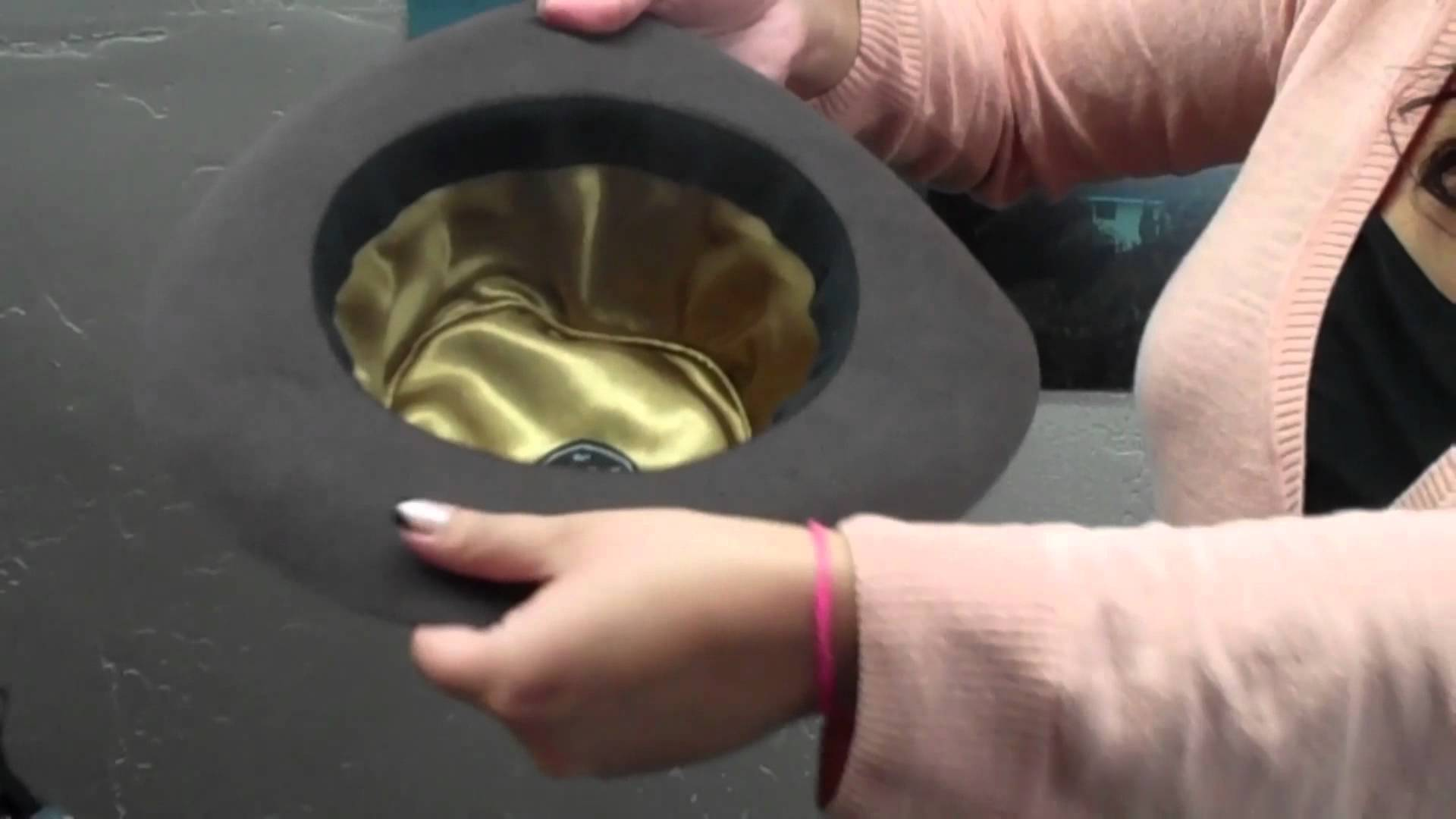 How to Steam and Reshape a Hat - Village Hat Shop | DIY amp