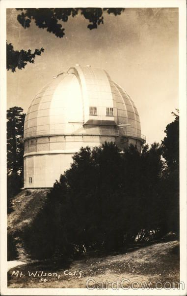Observatory Dome Observatory Mount Wilson Dome